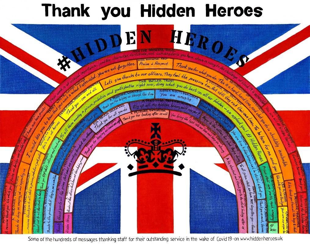 #HiddenHeroes Artwork